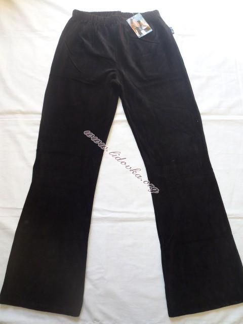 Dámské elastické manžestrové kalhoty - Dámské elastické ... 0859ce0bb0
