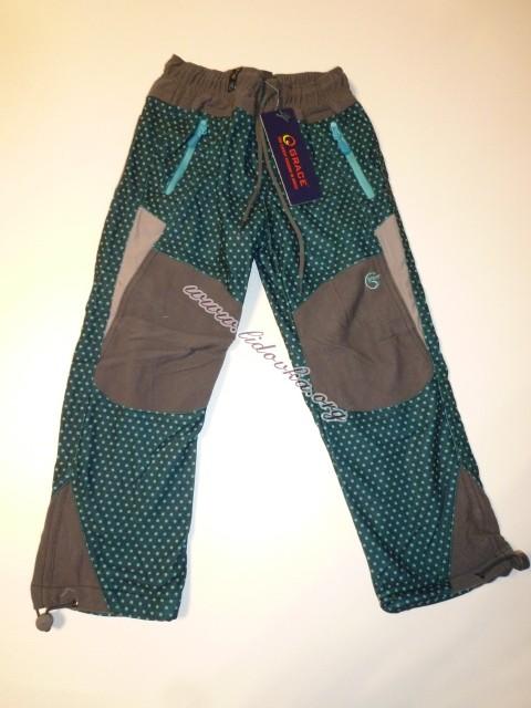 Zateplené kalhoty grace-puntík S41205 78680bb038